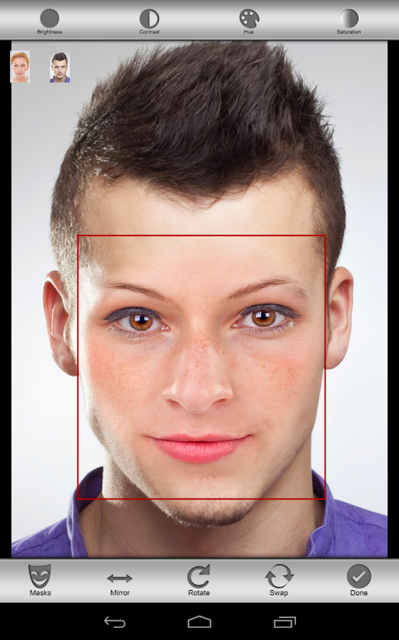 Face Swap Lite- screenshot