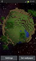 Screenshot of Craft World 3D Live Wallpaper