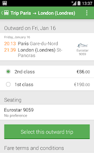 Trainline EU (Captain Train) Screenshot 30