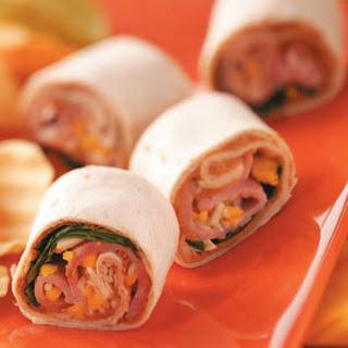 Tortilla Ham Roll-Ups