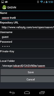 Open Android SVN PRO (OASVN)- screenshot thumbnail