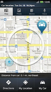 Motorola Car Finder- screenshot thumbnail