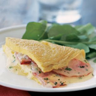 Ham and Cheddar Omelette