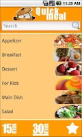 Screenshot of Quick Meal