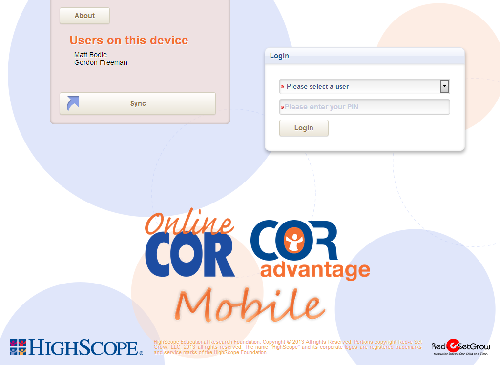 OnlineCOR Mobile- screenshot