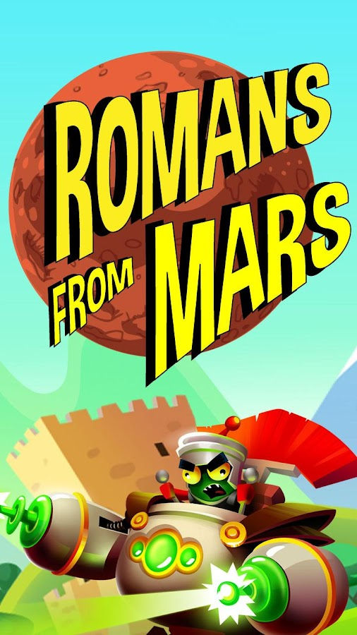 Romans From Mars- screenshot