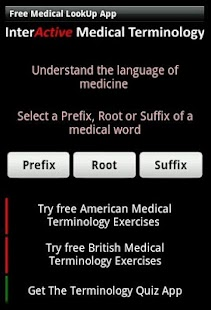 Learn Medical Terminology screenshot for Android