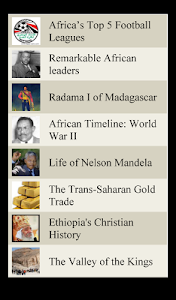 World Travel Lists - AFRICA screenshot 11