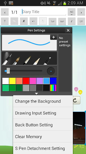 Diary for Galaxy Note 2