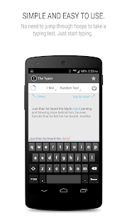 Typist: A Quick Typing Test ++- screenshot thumbnail