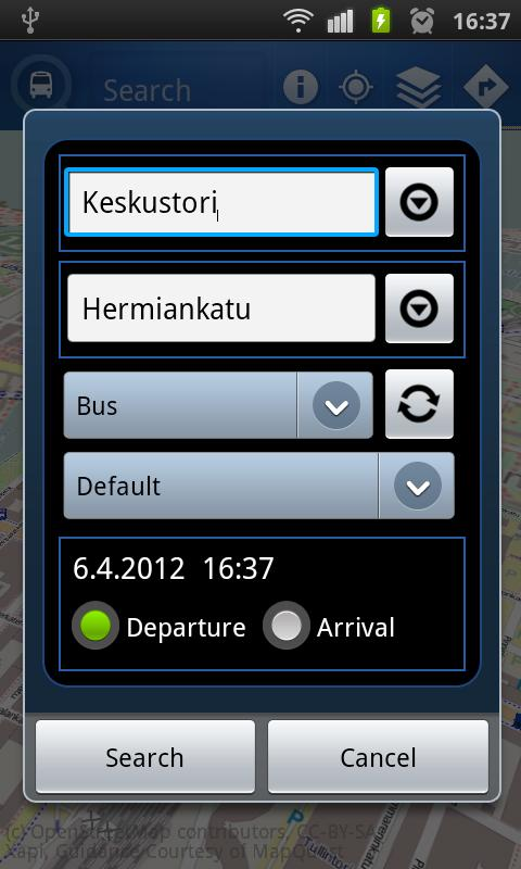 Nyssedroid - screenshot
