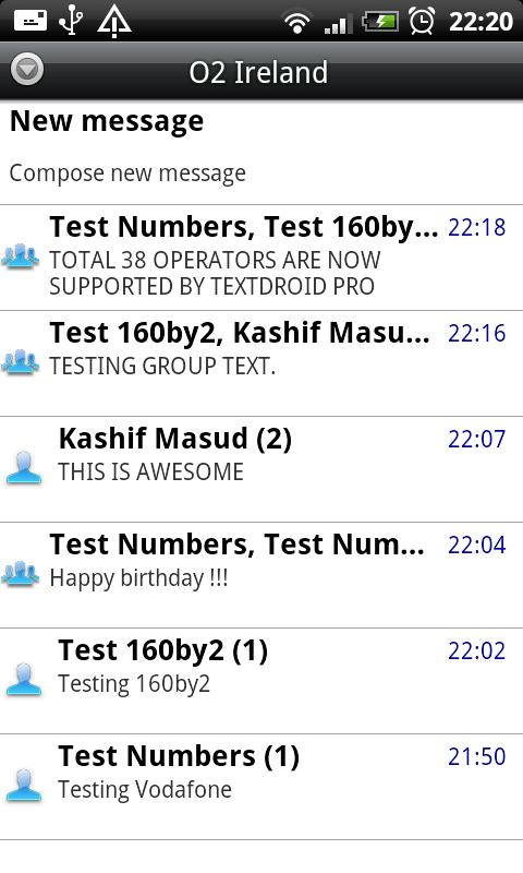 Textdroid PRO- screenshot