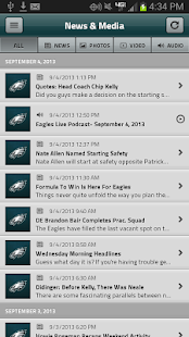 Eagles Official Mobile - screenshot thumbnail
