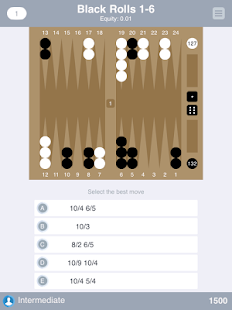 Backgammon Trivia- screenshot thumbnail