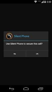 Silent Phone - private calls - screenshot thumbnail