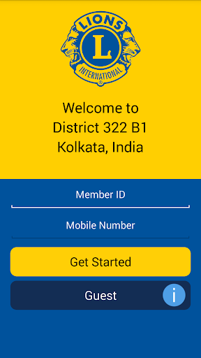 Lions Clubs Int District 322B1