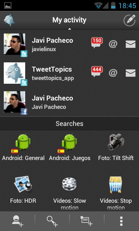 TweetTopics Premium (key)- screenshot