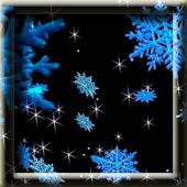 3D Animated Snowflakes LWP