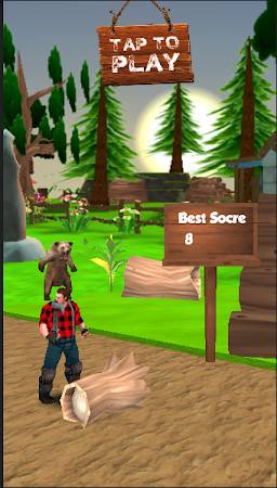 Danger Runner 3D Bear Dash Run 1.5 screenshot 1646789
