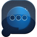 Easy SMS Blue Technology Theme icon