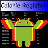 Calorie Register
