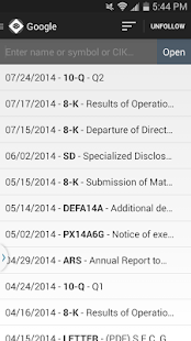 SEC Filings Reader- screenshot thumbnail