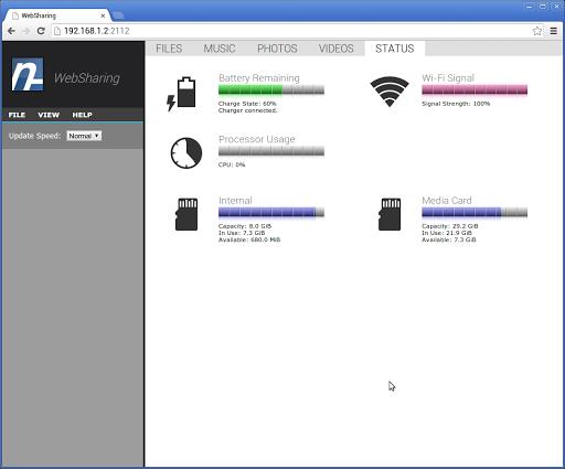 【免費通訊App】WebSharingLite (File Manager)-APP點子
