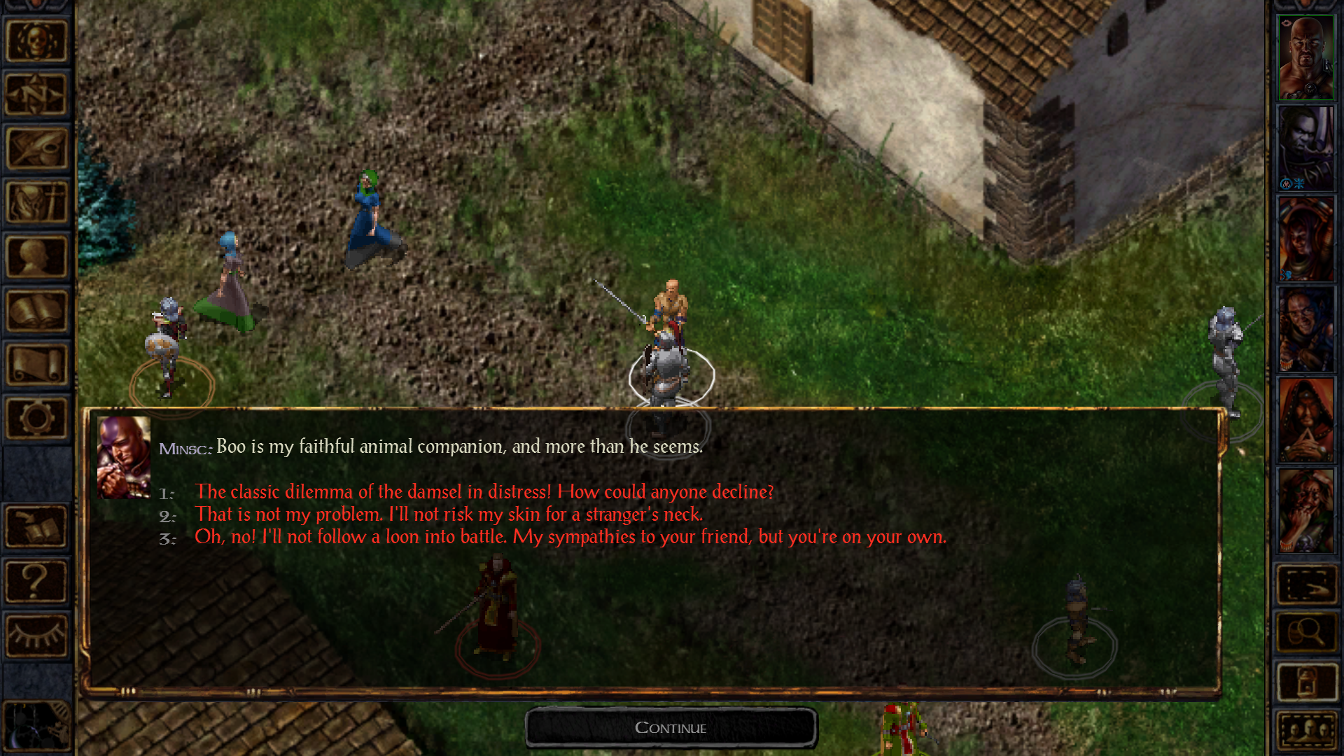 Baldur's Gate Enhanced Edition screenshot #4