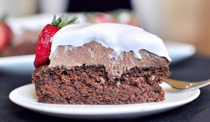 Healthier Chocolate Cake Recipe
