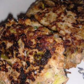 Paleo Pork Hatch Chile Breakfast Patties.
