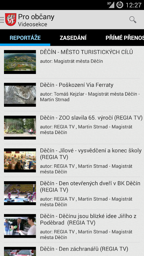 Děčín- screenshot