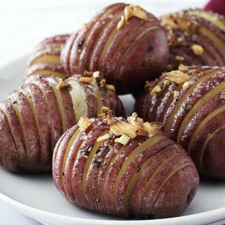 Red Hasselback Potatoes Recipe