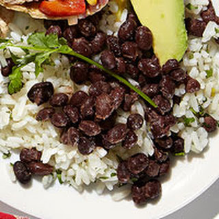 Cilantro Rice & Spiced Black Beans