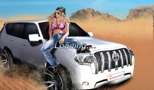 砂漠のドリフト