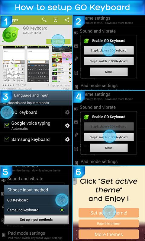 Ninja Keyboard - screenshot
