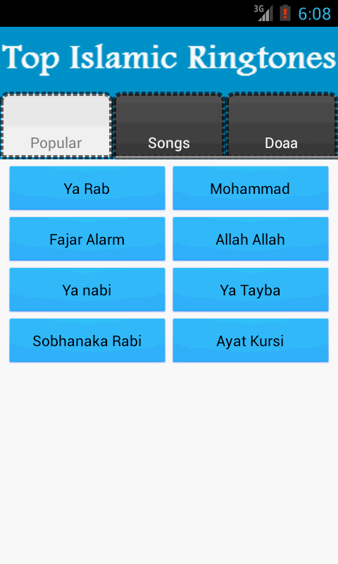 Top Islamic Ringtones - screenshot