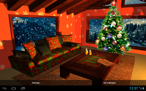 3D Christmas Fireplace HD Full - screenshot thumbnail