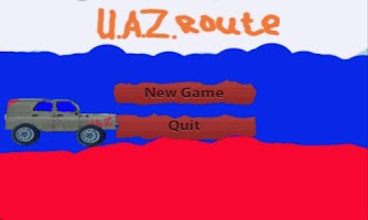 Screenshot of Russian UAZ route