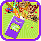 School Meal Maker  Lunch Food & Candy Cooking Game icon