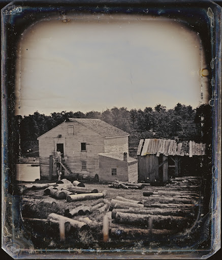 Outdoor Scene: Lumber Mill
