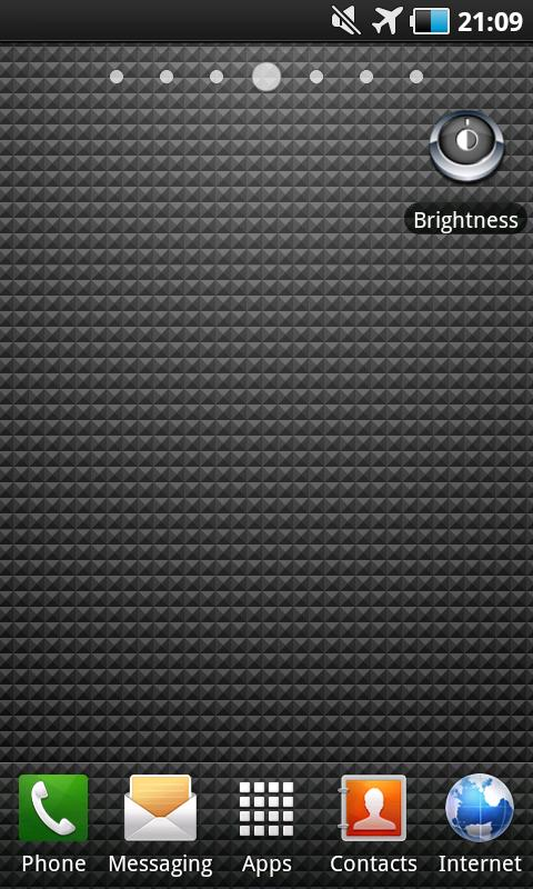 Perfect Brightness Toggle - screenshot