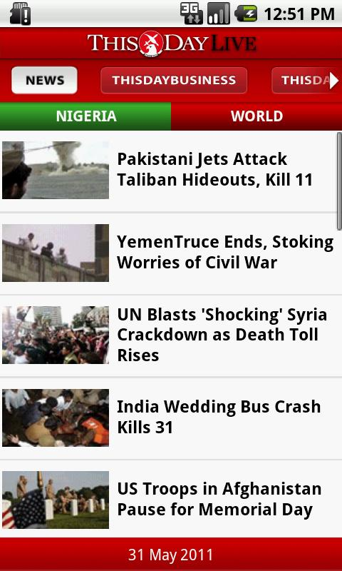 THISDAY Live - screenshot
