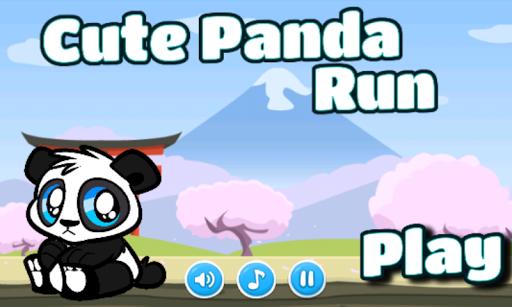 Cute Panda Run