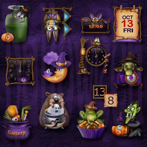 Halloween Widgets 個人化 App LOGO-APP開箱王