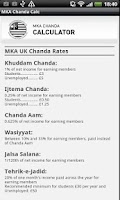 Screenshot of MKA UK Chanda App