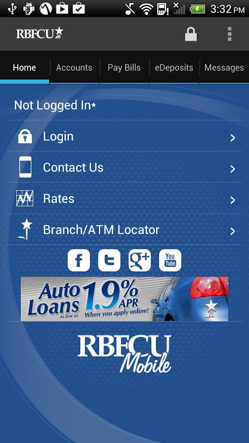 RBFCU Mobile - screenshot