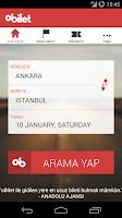 Screenshot of oBilet - Otobüs Bileti