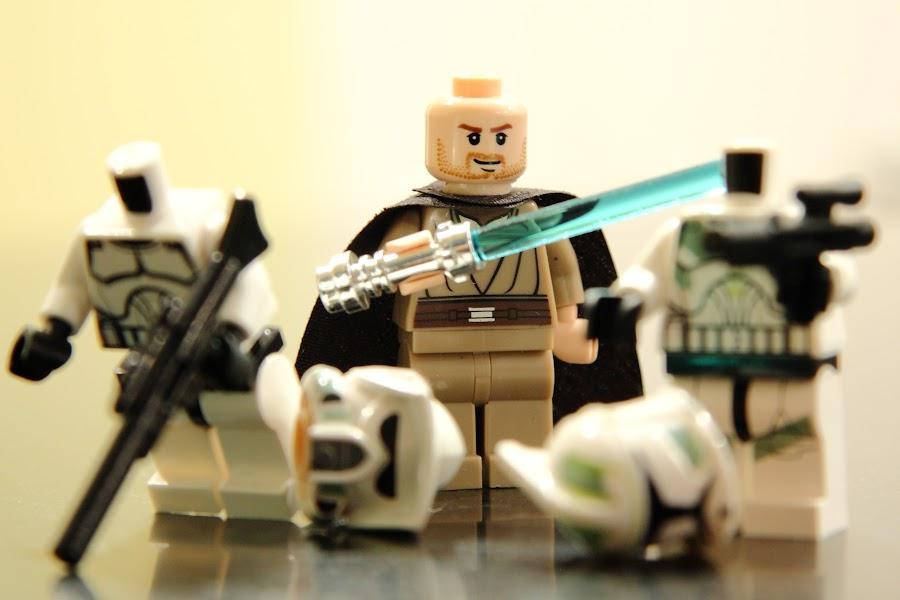 Lego Jedi by Jeremy Randall - Artistic Objects Toys ( jedi, toy, star wars, jedi knight, lego )