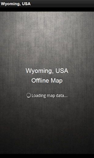 離線地圖 美國懷俄明州