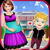 Pregnant Woman Newborn Caring